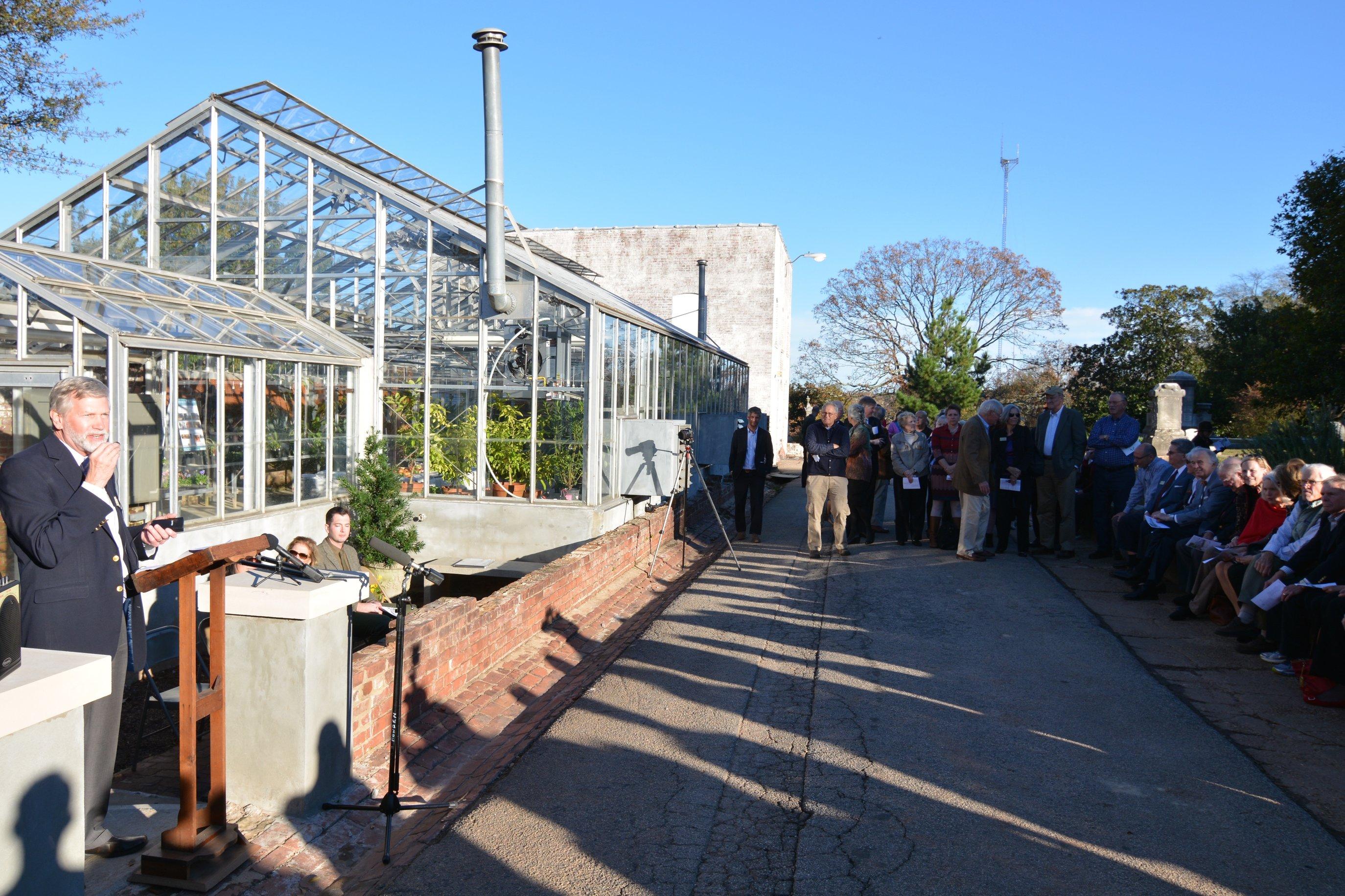 Beaumont Allen Greenhouse Opens