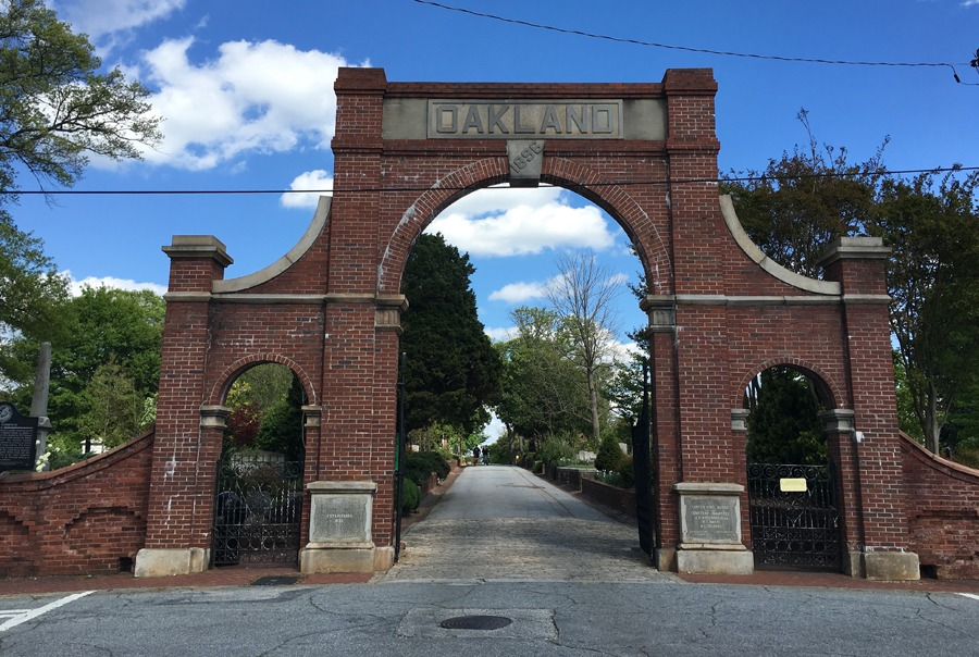 Oakland Avenue Entrance Gate Constructed