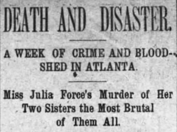 Julia Force newspaper